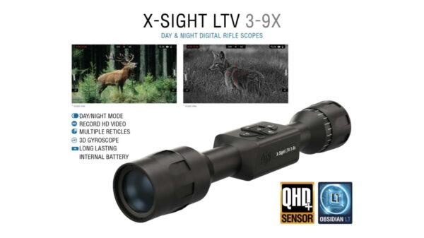 opplanet atn x sight ltv 3 9x day night hunting rifle scope black dgwsxs309ltv usage 3